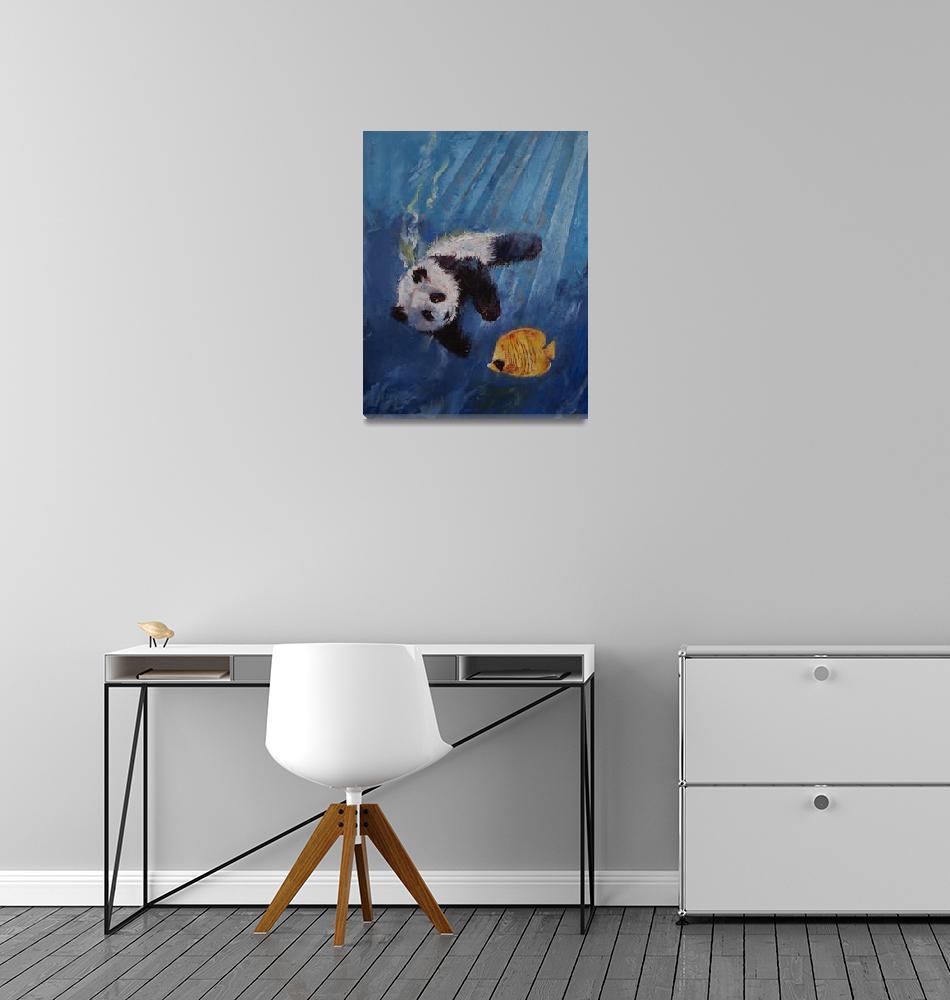 """Panda Diver""  by creese"