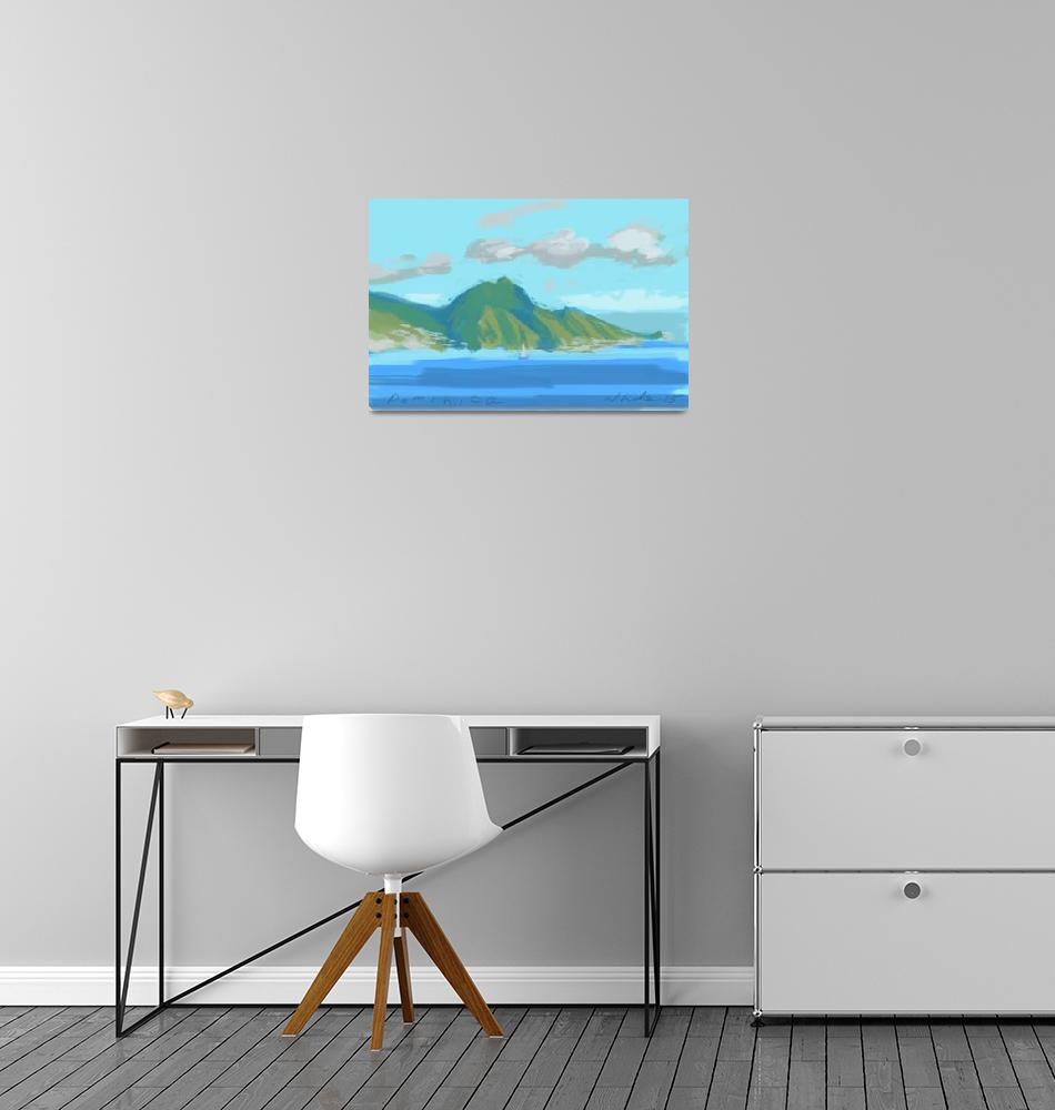 """Dominica Island""  (2015) by rogerwhite"