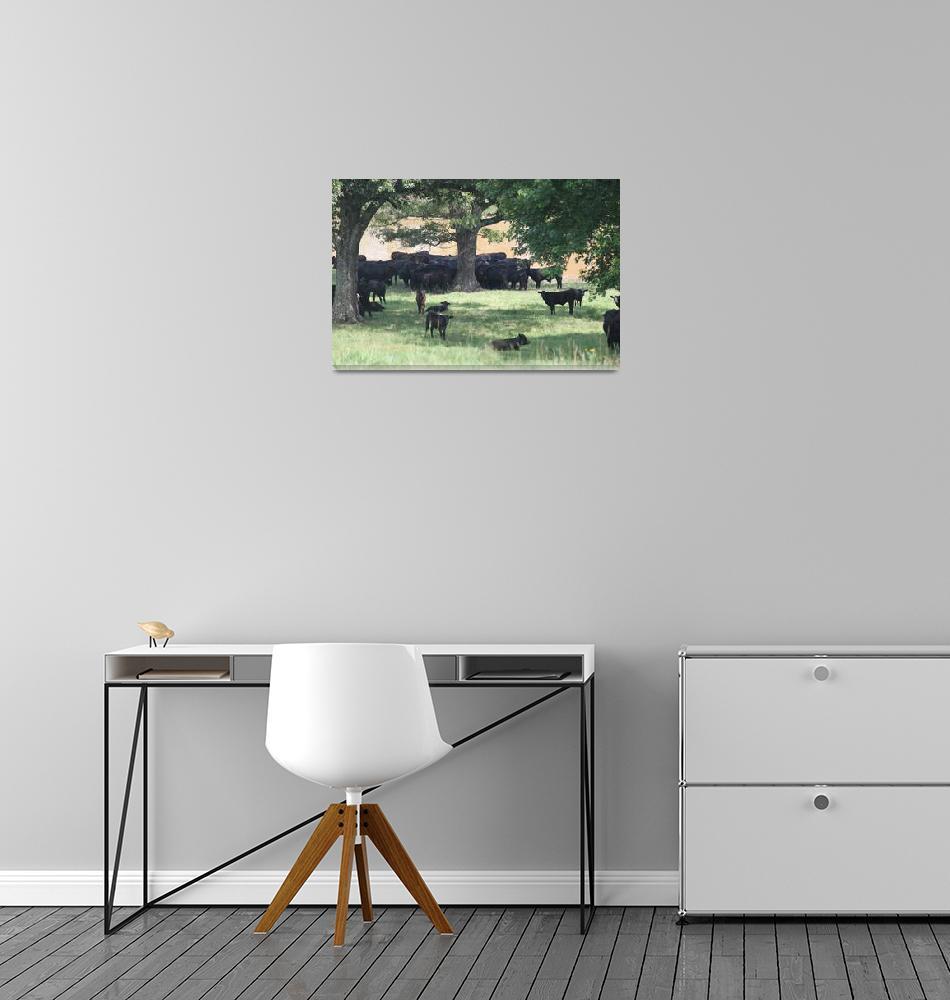 """""""Cow Pasture""""  (2011) by smokienadroj"""