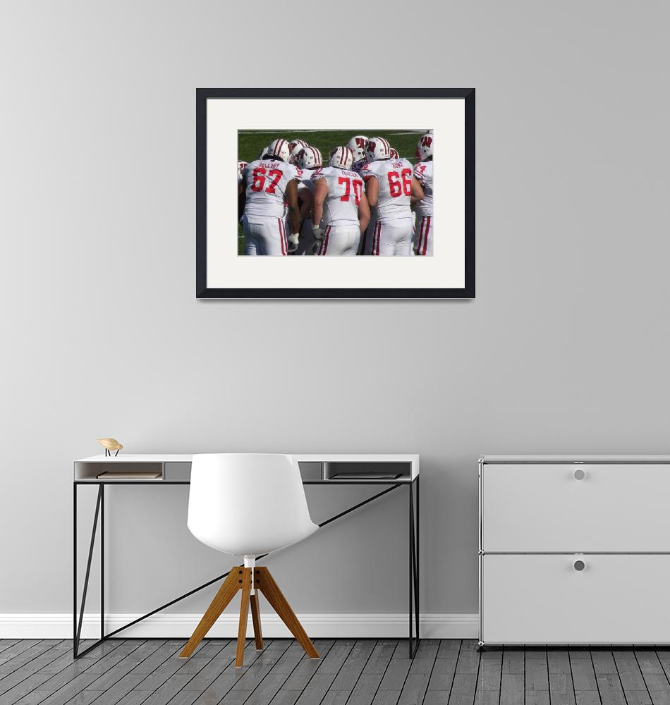 """""""The huddle""""  (2009) by LuvDaPack"""