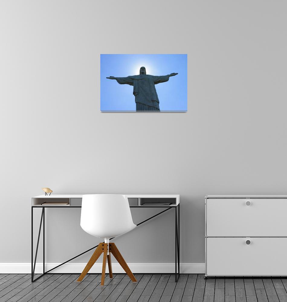 """Christ the Redeemer - Cristo Redentor I""  (2014) by daikyouju"