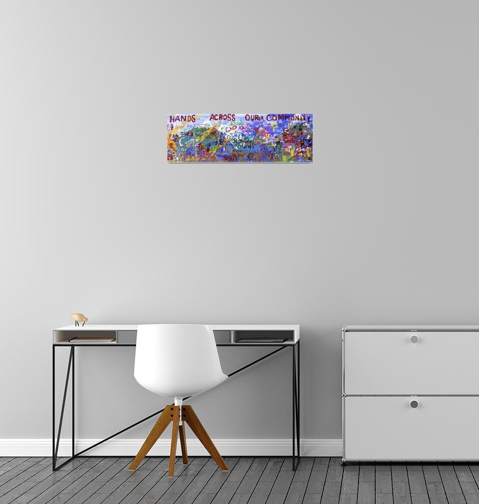 """Neighborhood Mural""  by Panoramic_Images"