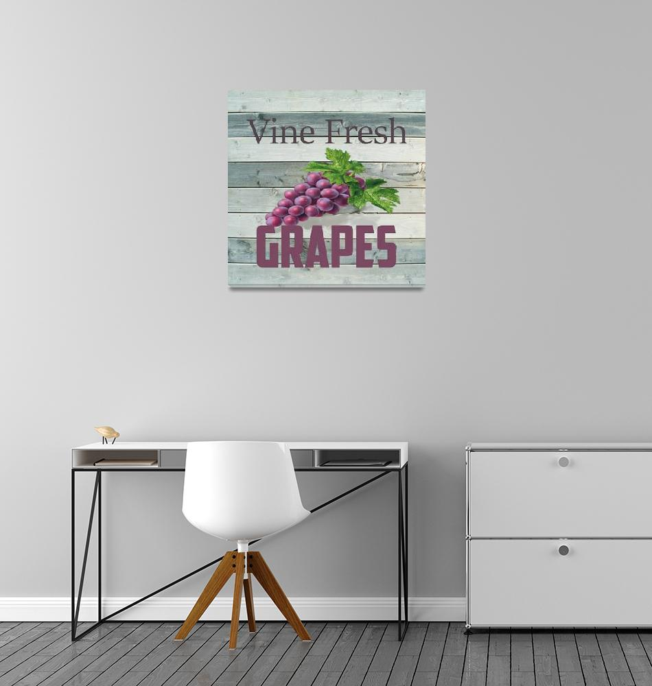 """VINE FRESH GRAPES""  (2018) by HerbDickinson"
