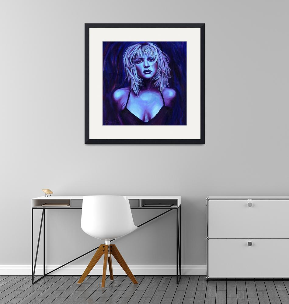 """Courtney Love""  (2008) by RamosStudios"