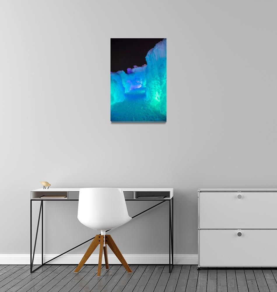 """""""Stillwater Ice Castles #2""""  (2017) by DavidParkerPhotography"""