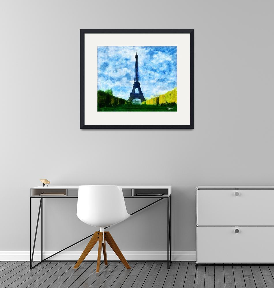 """TOUR EIFFEL""  (2010) by Zaboni"