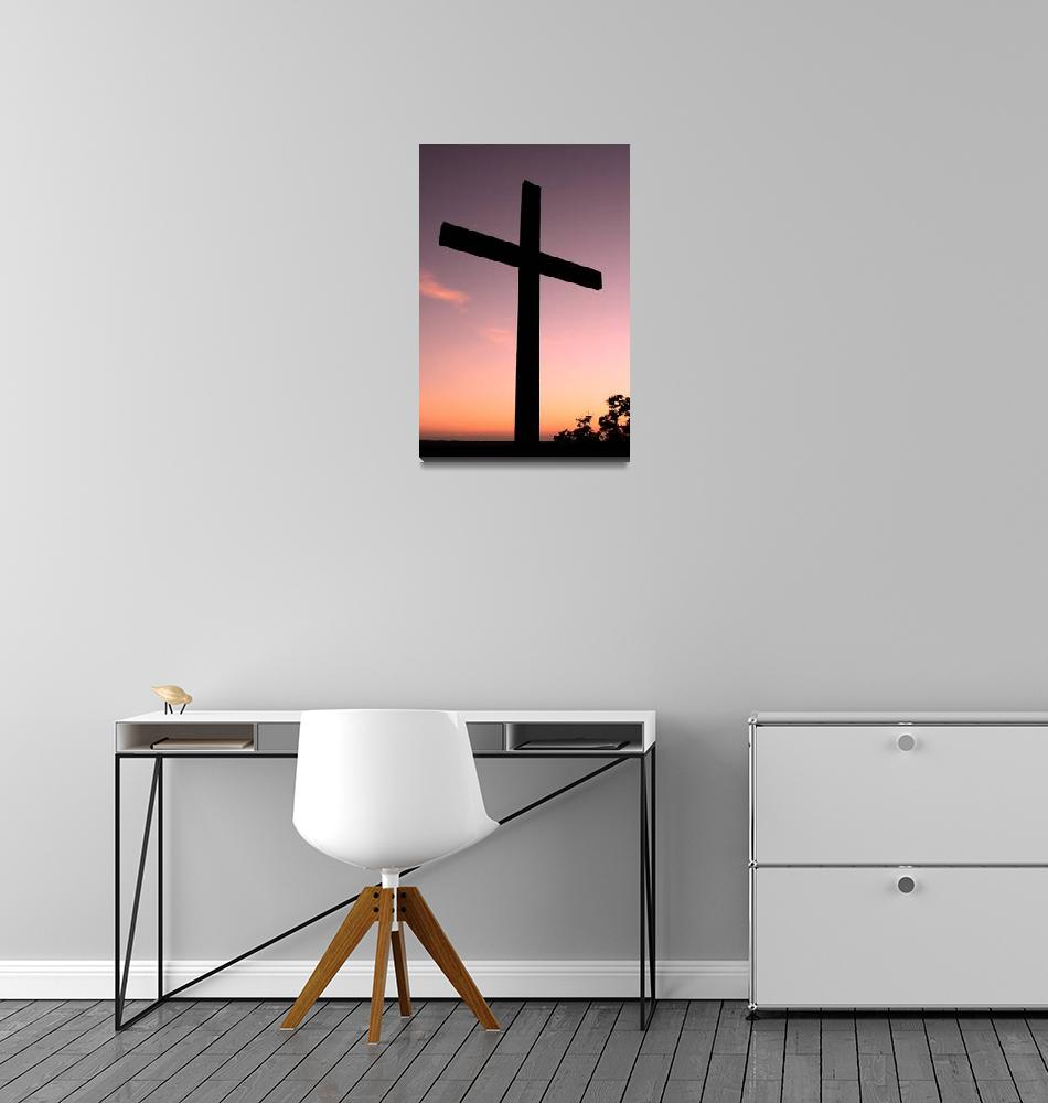 """""""Sunset Cross""""  (2006) by PaulHuchton"""
