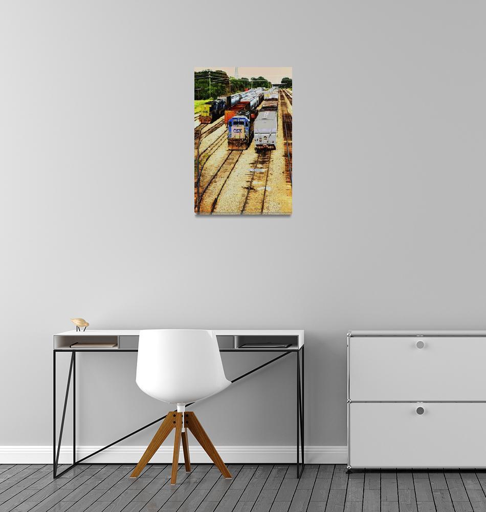 """Rail Yard""  by karolsstuff"