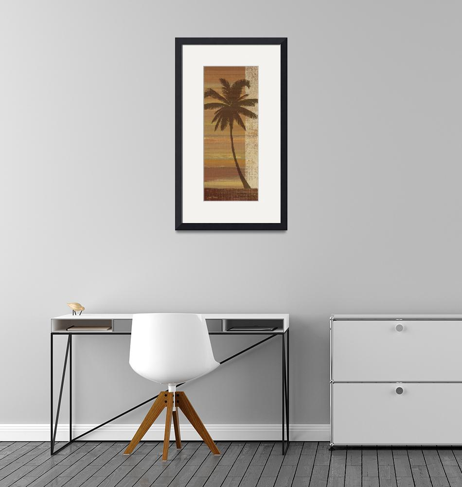 """""""Tropical Sunset II""""  by artlicensing"""