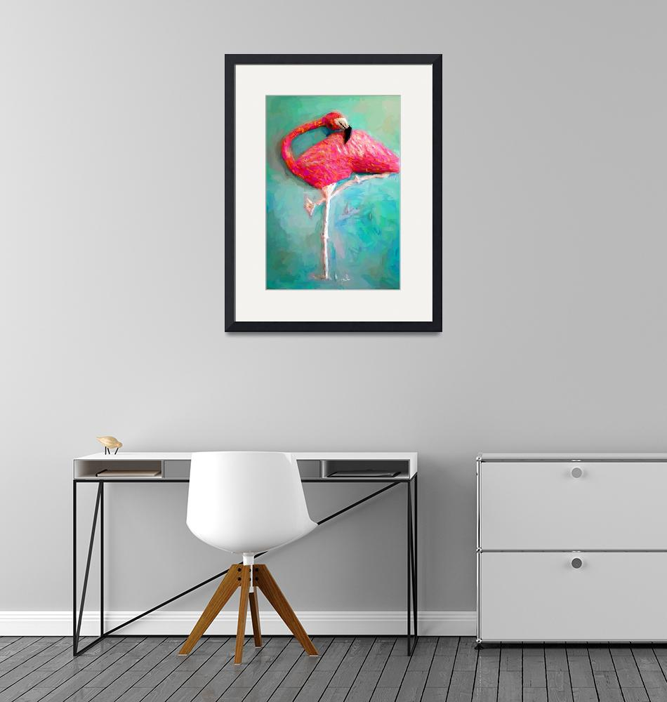 """""""FLAMINGO BY TOM SACHSE""""  by ArtbySachse"""