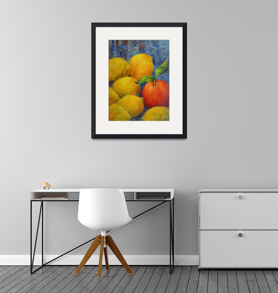 """""""Lemons and an Apple""""  (2014) by mbschiros"""