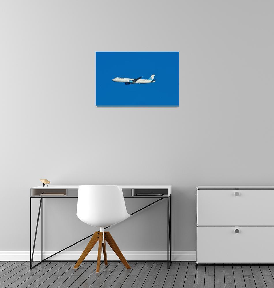 """Aigle Azur A321""  (2009) by JoaoPonces"
