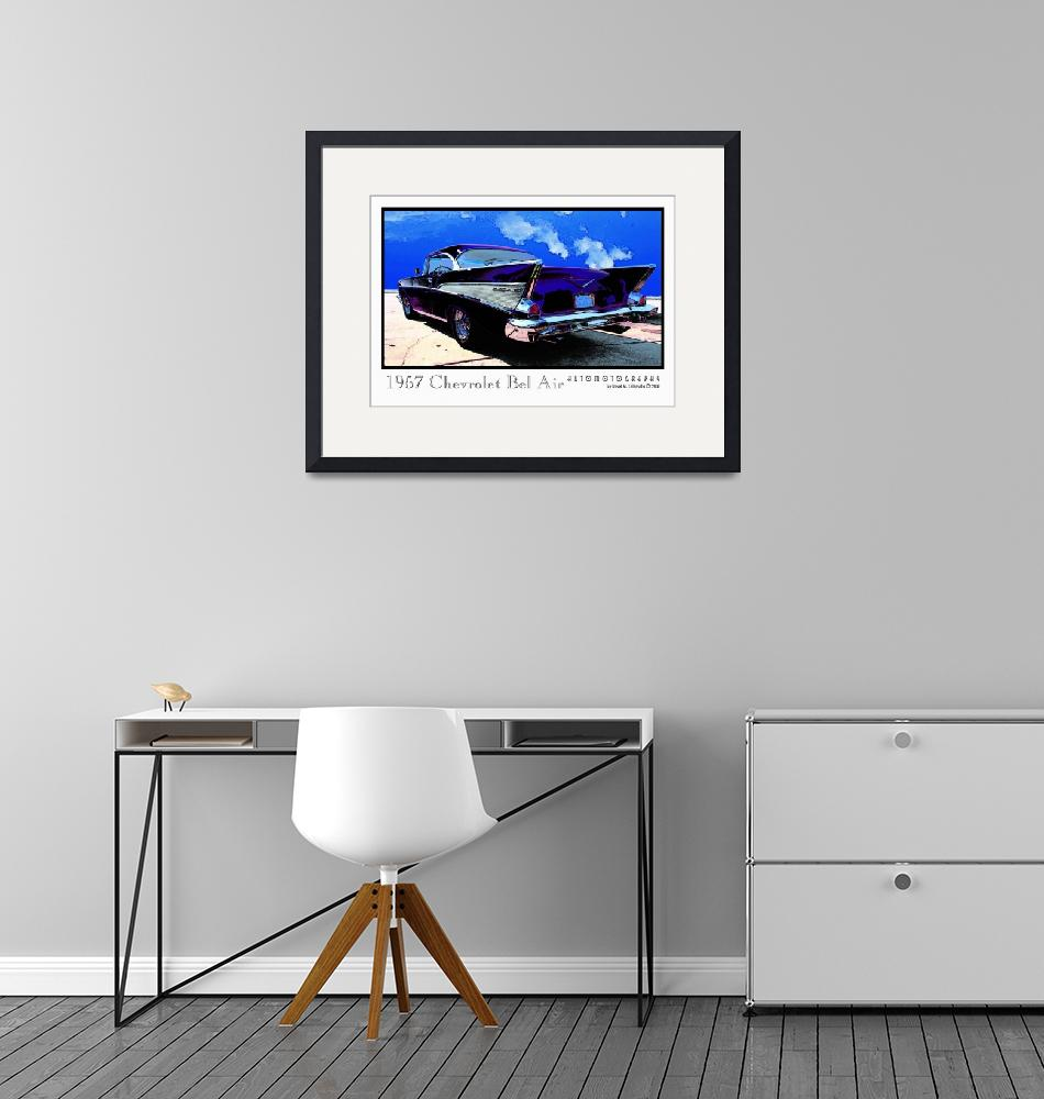 """""""1957 Chevrolet Bel Air""""  (2009) by Automotography"""