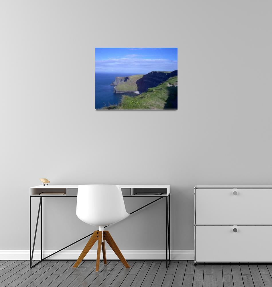 """16x20 Cliffs of Moher 6""  (2004) by marricphoto"