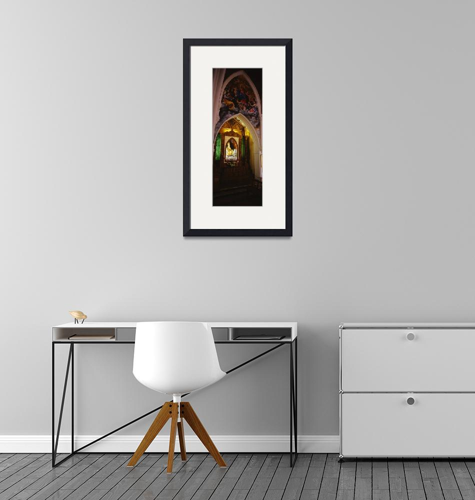 """""""Interiors of a church""""  by Panoramic_Images"""