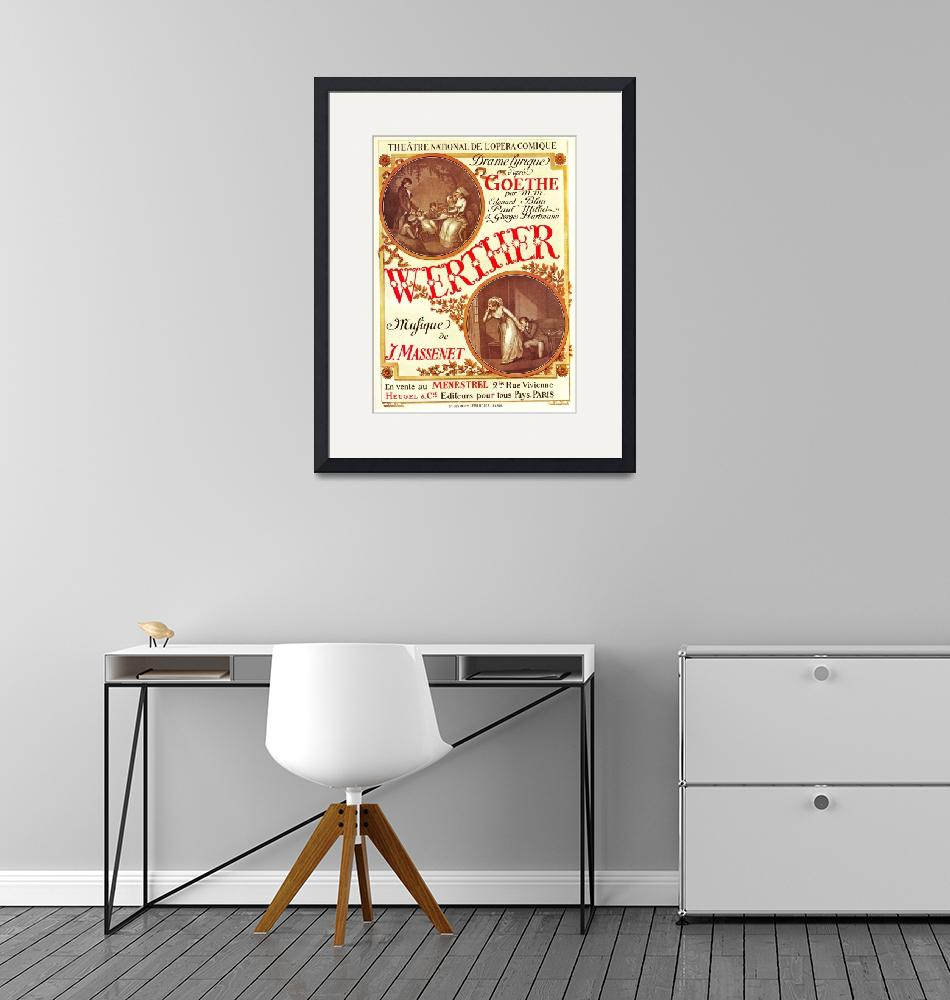 """Vintage Theatrical Poster Framed Print""  by buddakats1"