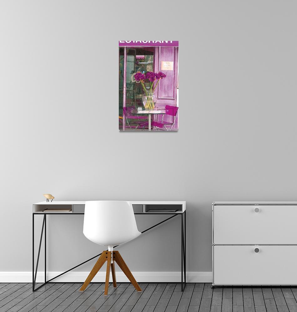 """""""Purple flower""""  (2007) by designergal2222"""