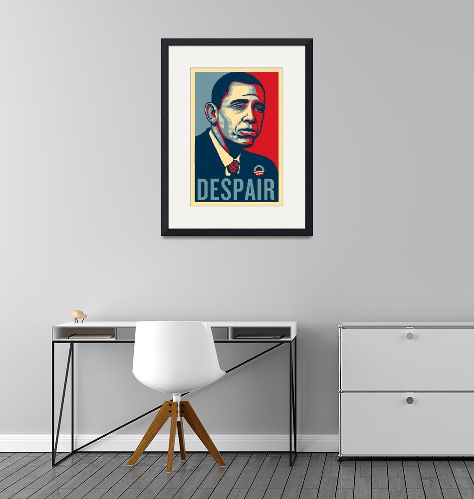 """Sad Obama Despair""  (2011) by libertymaniacs"