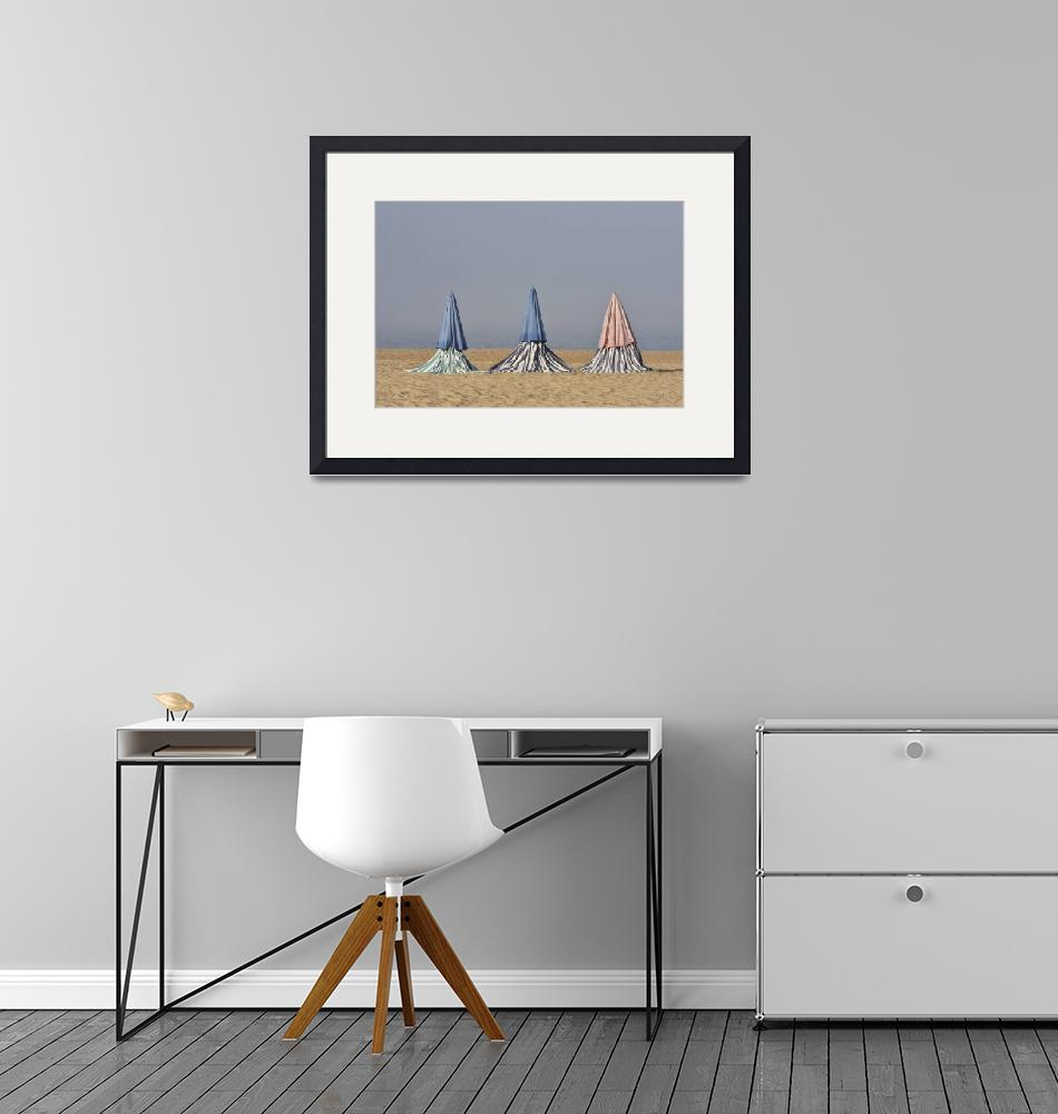 """""""Beach Tents""""  (2016) by mStepanPhotographer"""
