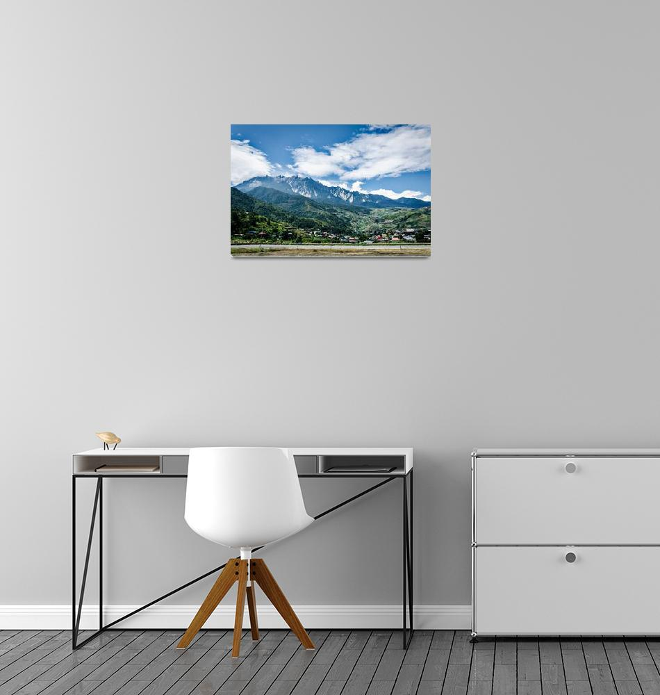 """Mount Kinabalu""  (2016) by RichardParsons"