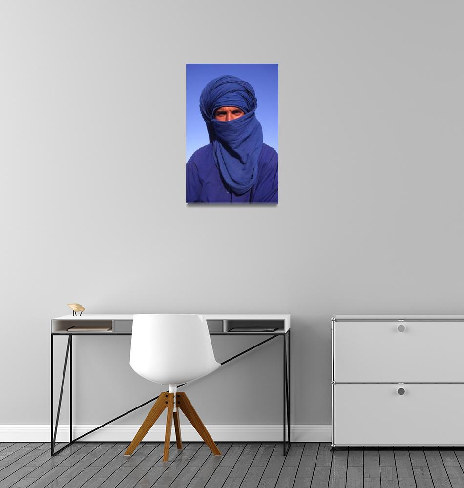 """The Man in Blue""  (2001) by SteveOutram"