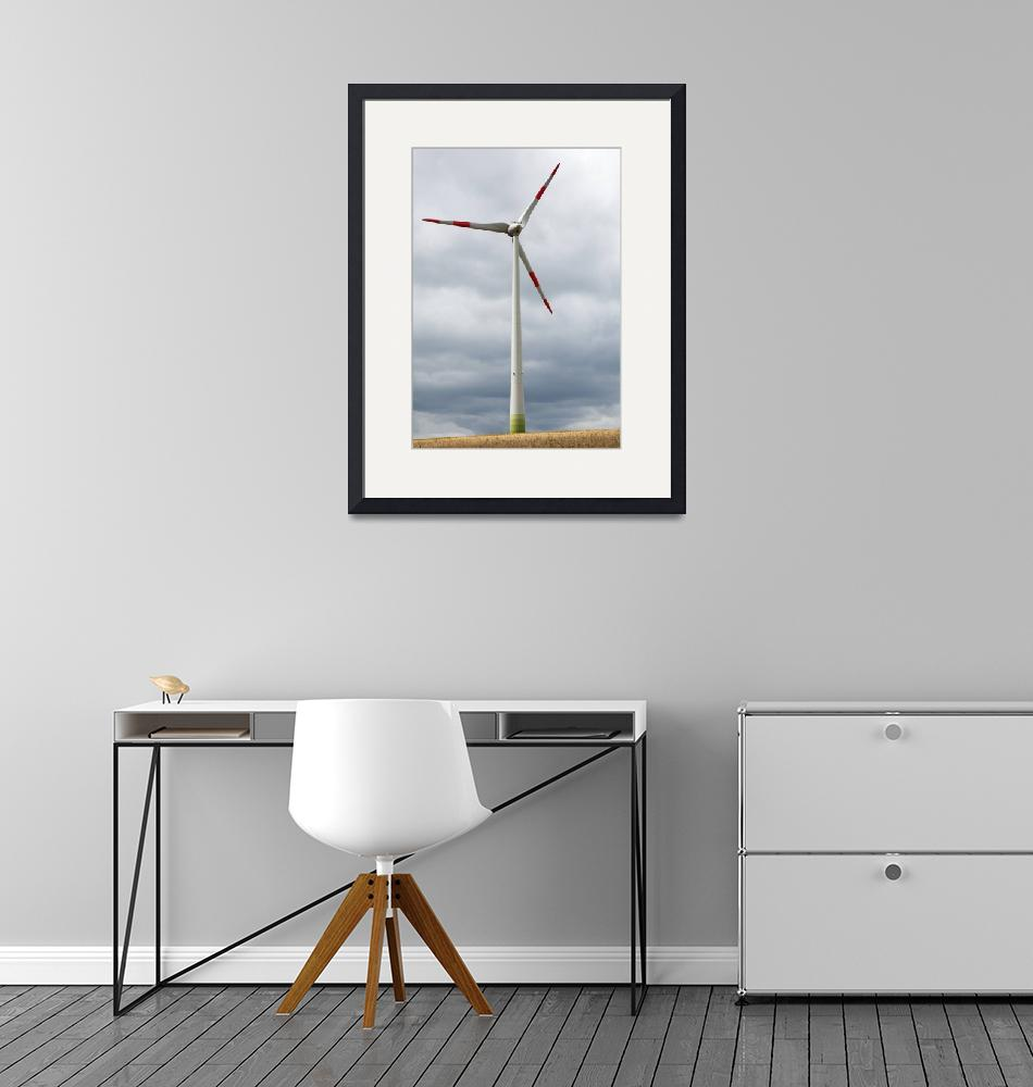 """Wind turbine in Germany""  (2012) by IanMiddletonphotography"