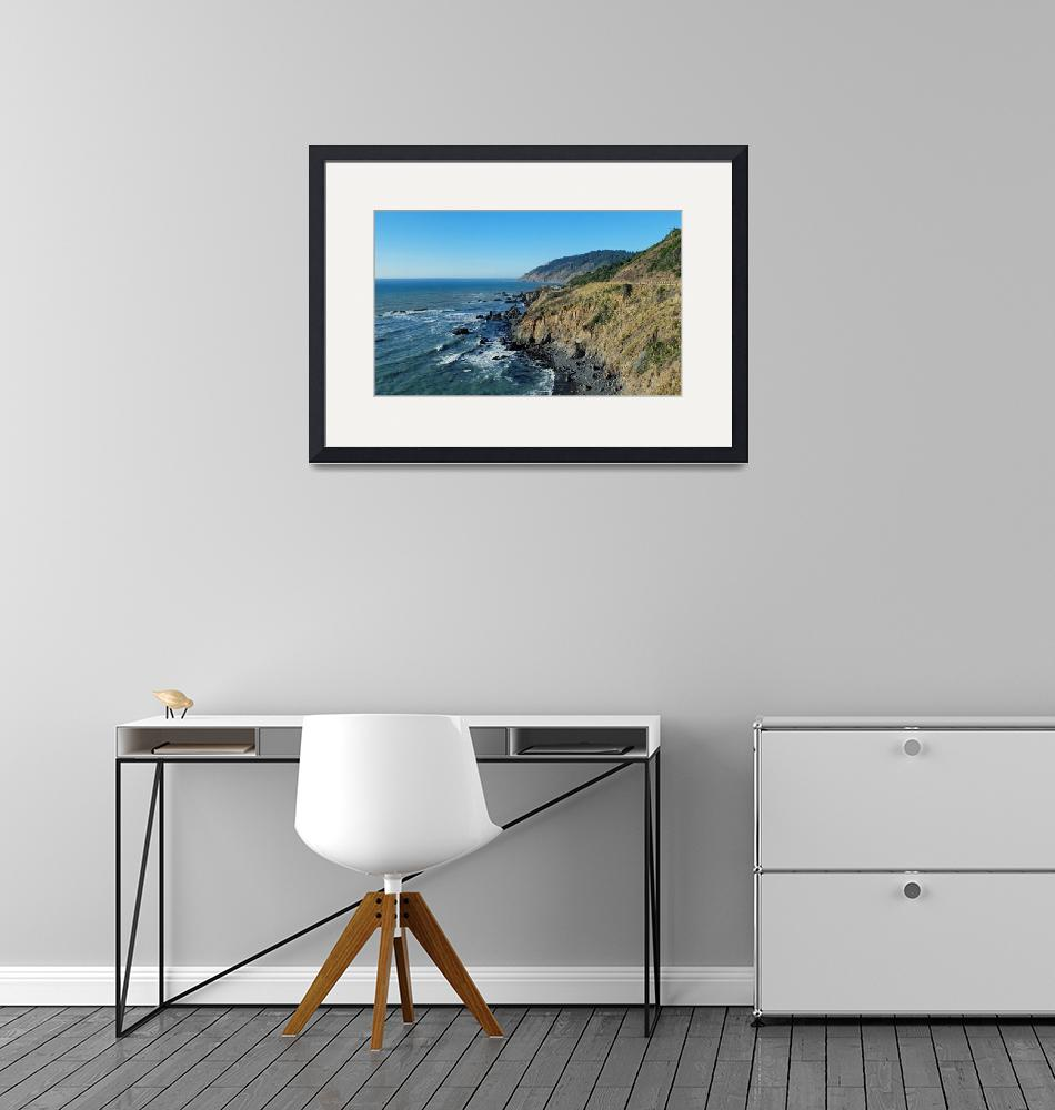 """""""Northern California Coast""""  by North22Gallery"""