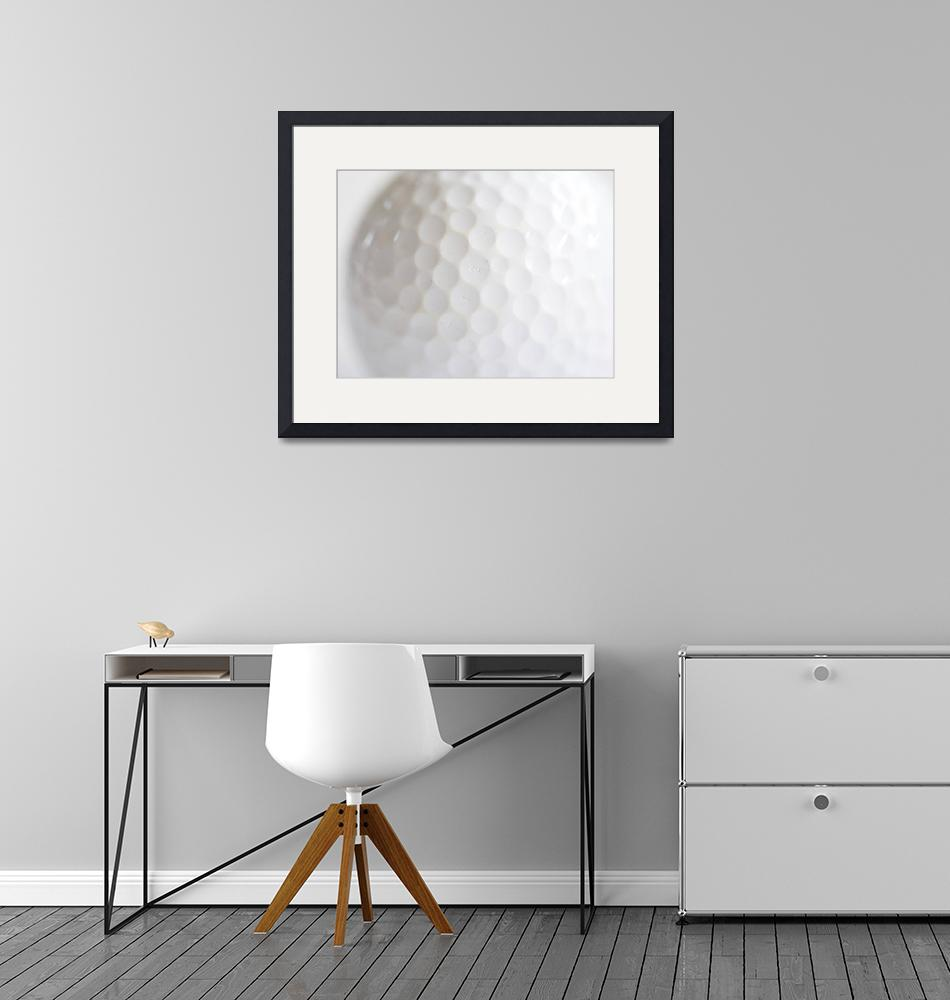 """""""Golf Ball""""  (2010) by ImageArt-Photography"""