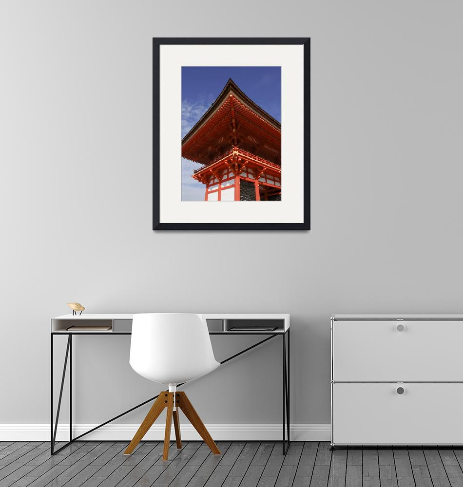 """""""Kyoto Temple roof"""" (2007) by TCluley"""