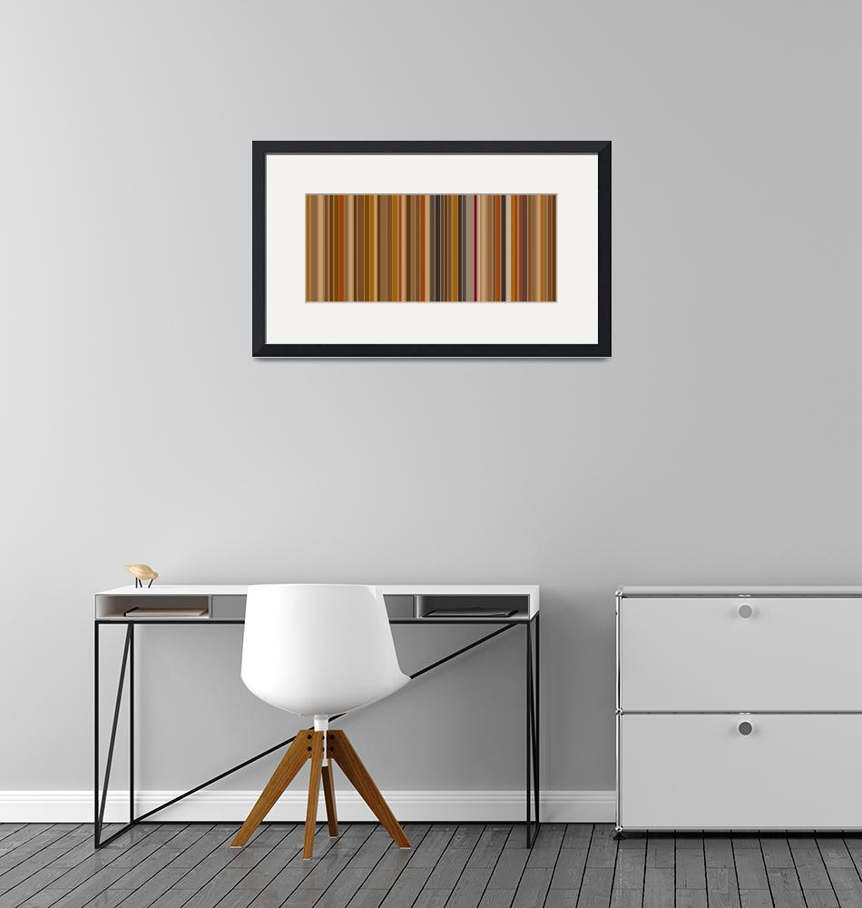 """""""Mocha Bean Stripes: Abstract""""  by karynlewis"""
