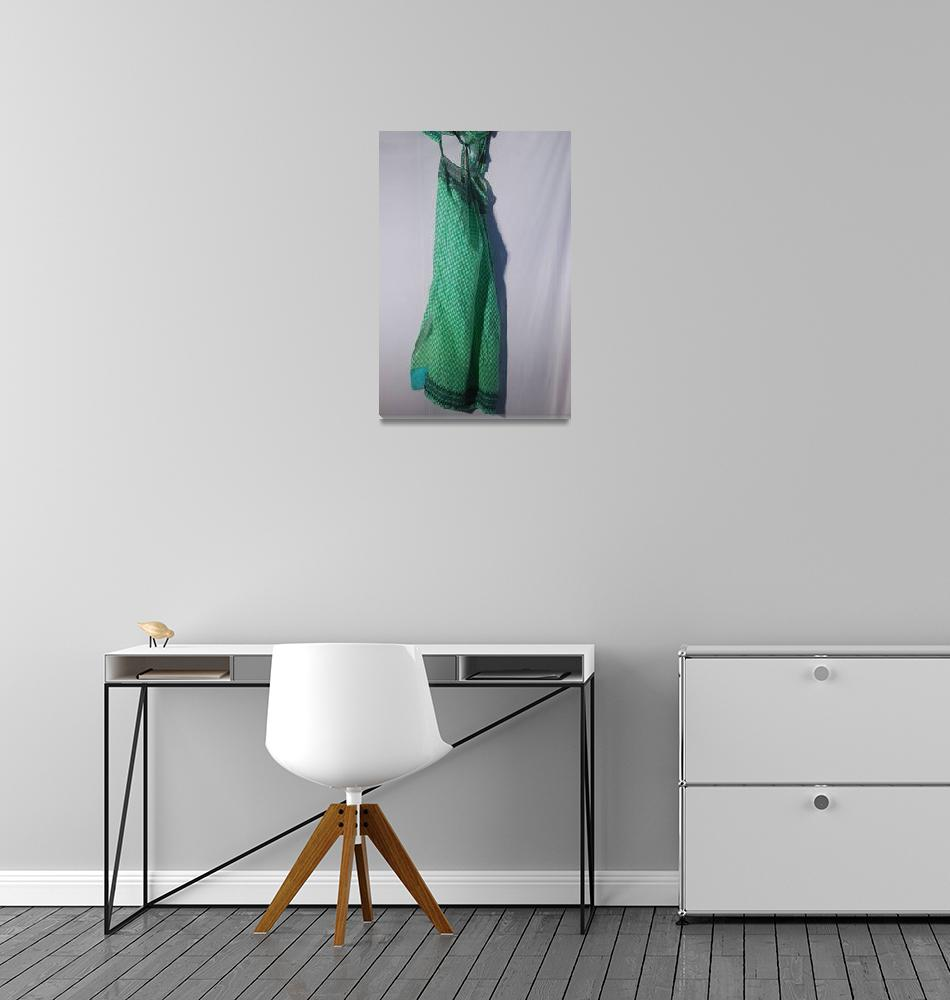 """Dress Design 2 Green Dress""  (2010) by krishnaswamy"