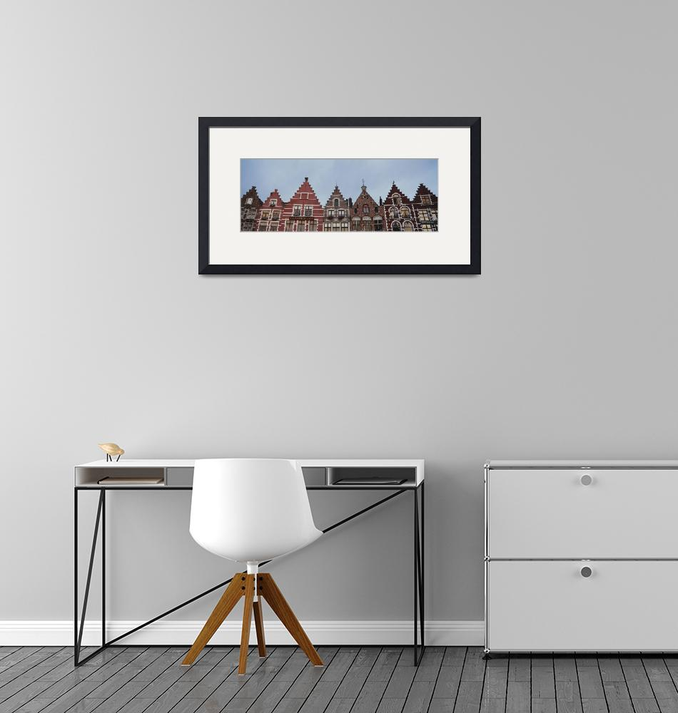 """""""Low angle view of buildings""""  by Panoramic_Images"""