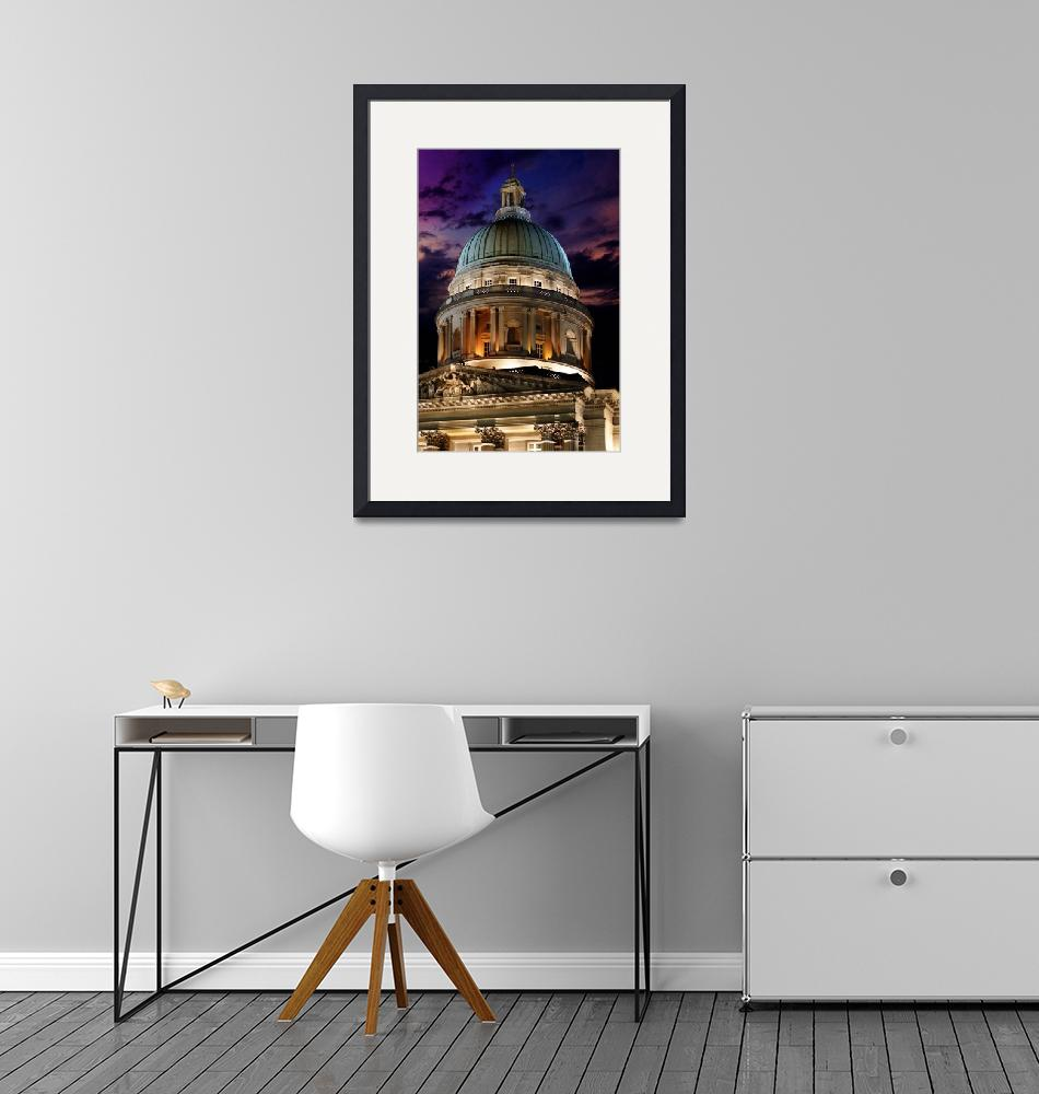 """""""The Big Copper Dome of Old Supreme Court – Singapo""""  (2009) by williamcho"""