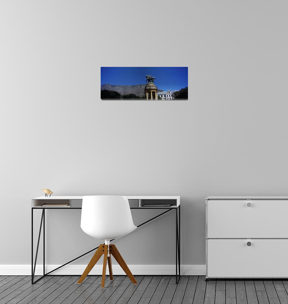 """""""War memorial with Table Mountain in the backgroun""""  by Panoramic_Images"""