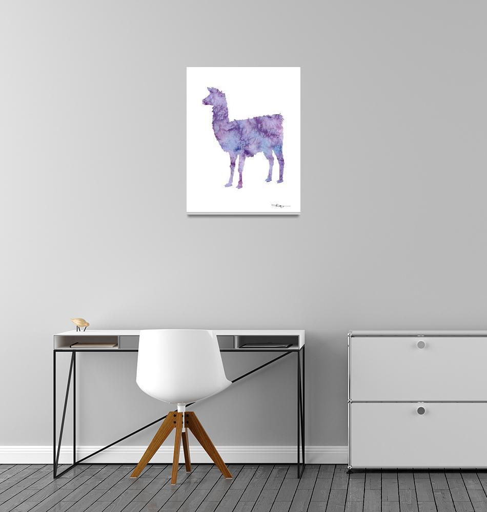 """""""Llama""""  (2015) by k9artgallery"""