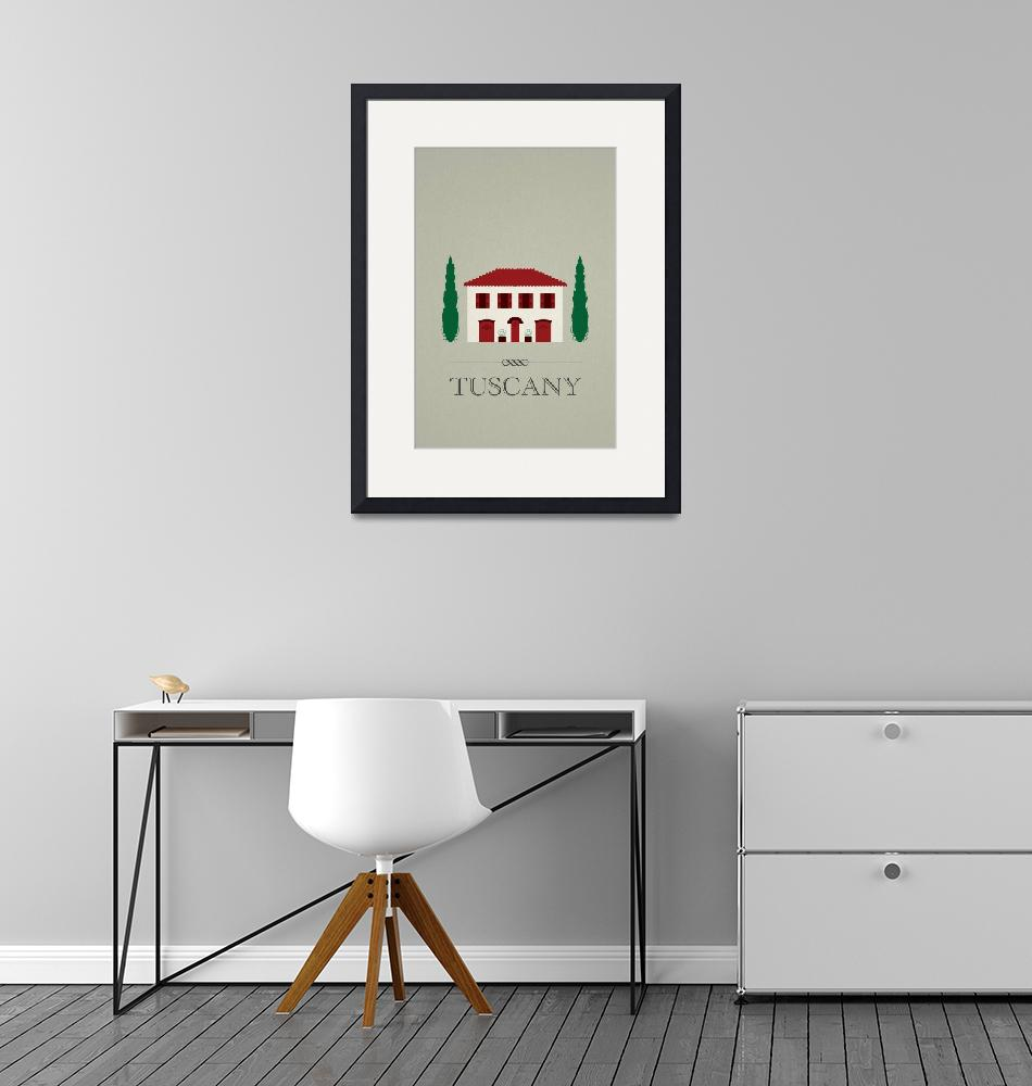 """""""Tuscany Villa""""  (2011) by GraphicArc"""