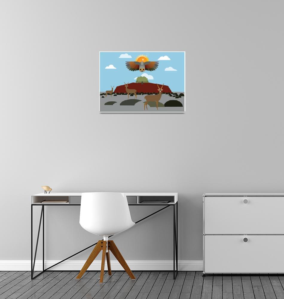 """""""Desert landscape""""  by Design4uStudio"""