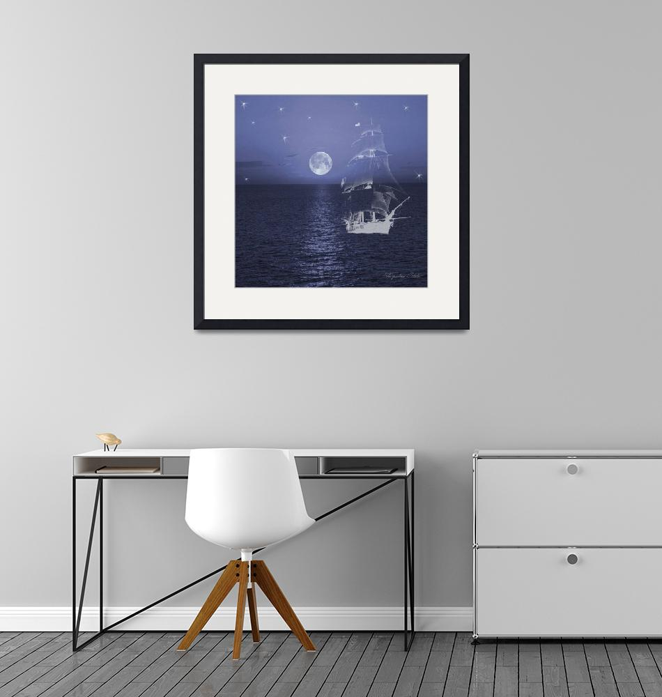 """""""Ghost Ship""""  (2017) by ladytravel"""
