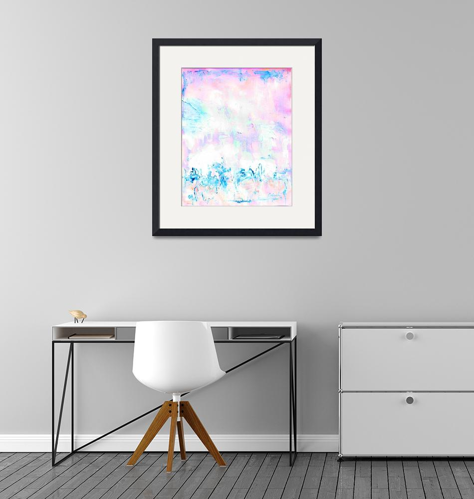 """""""Abstract Painting Cotton Candy Store""""  (2020) by RDRiccoboni"""