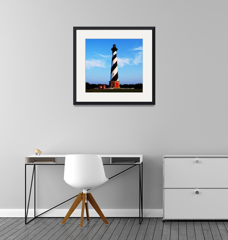 """Cape Hatteras Light House""  (2010) by mattiebryant"