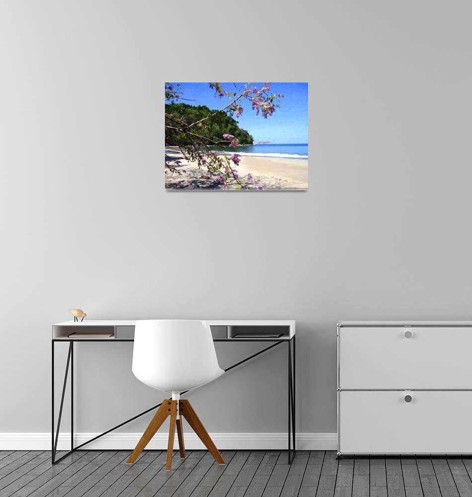 """Playa Espadilla Sur, Costa Rica""  (2007) by kurt50"