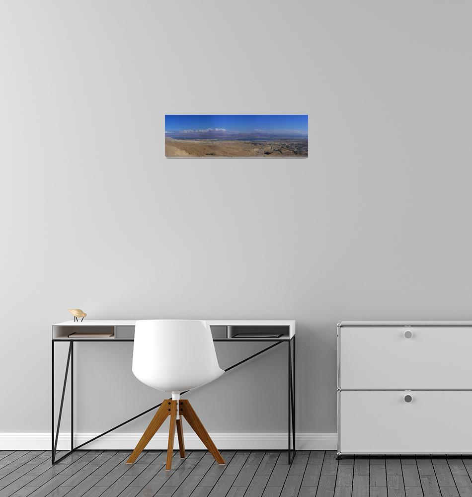 """""""Dead Sea Panorama""""  (2008) by amigo"""
