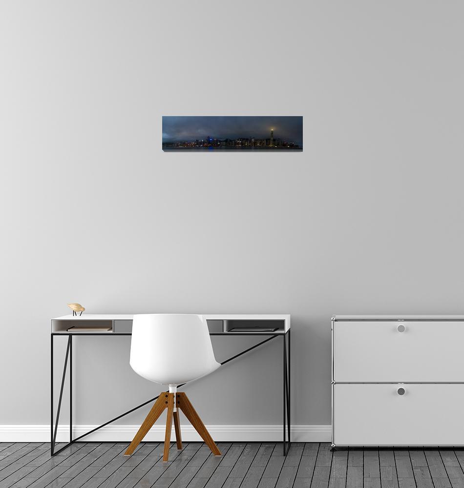 """""""OS_Hong_Kong_Panorama1""""  by PhotoStock-Israel"""
