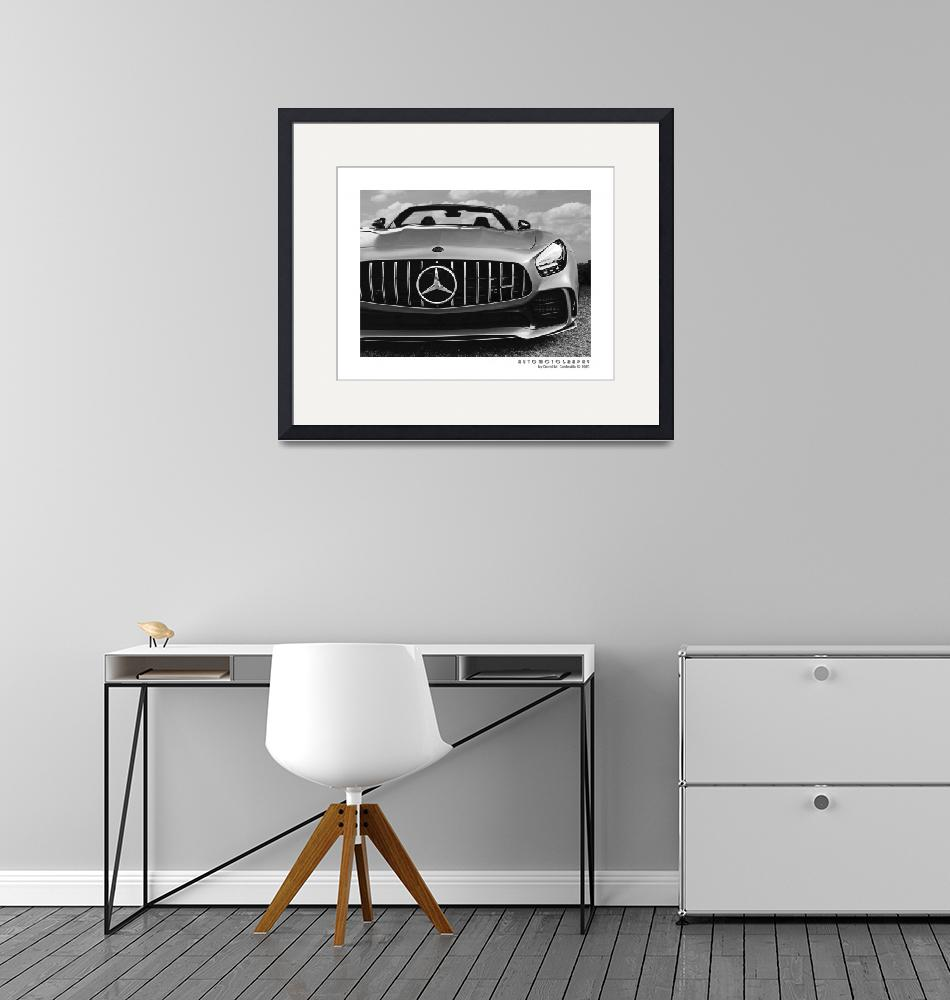"""""""Mercedes AMG GT Poster 5"""" (2021) by Automotography"""