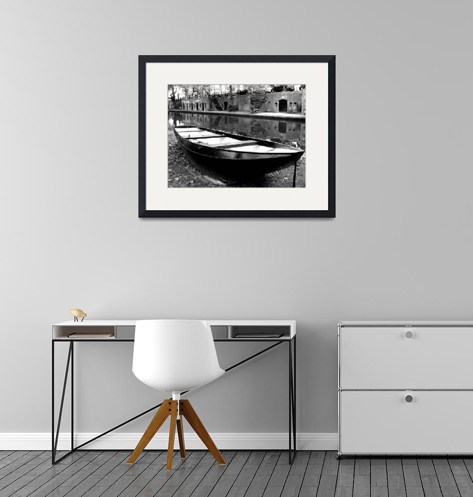 """""""Boat on the Canal""""  (2010) by cybergypsie"""