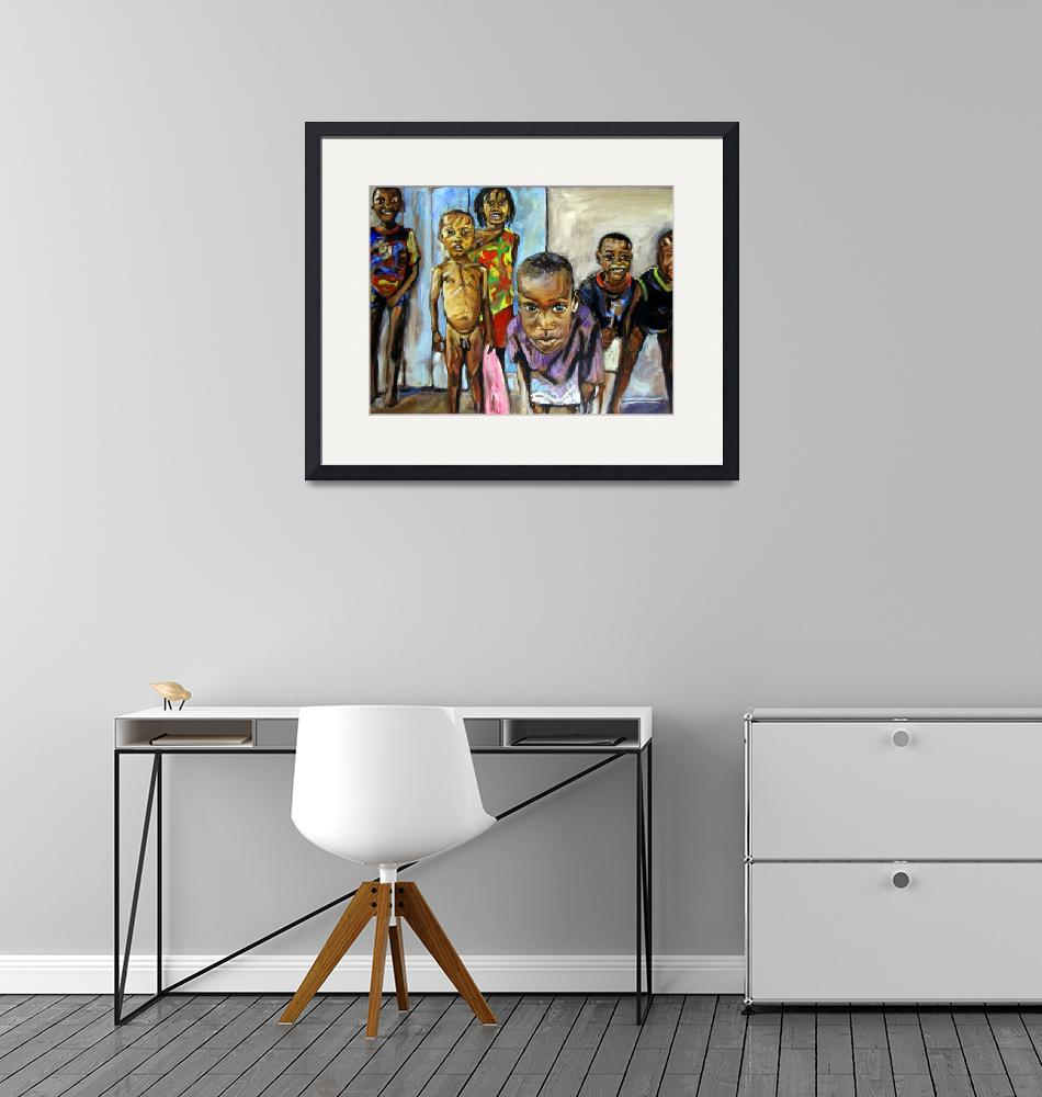 """""""Haiti Kids from Les Anglais""""  (2009) by philgoodrich"""