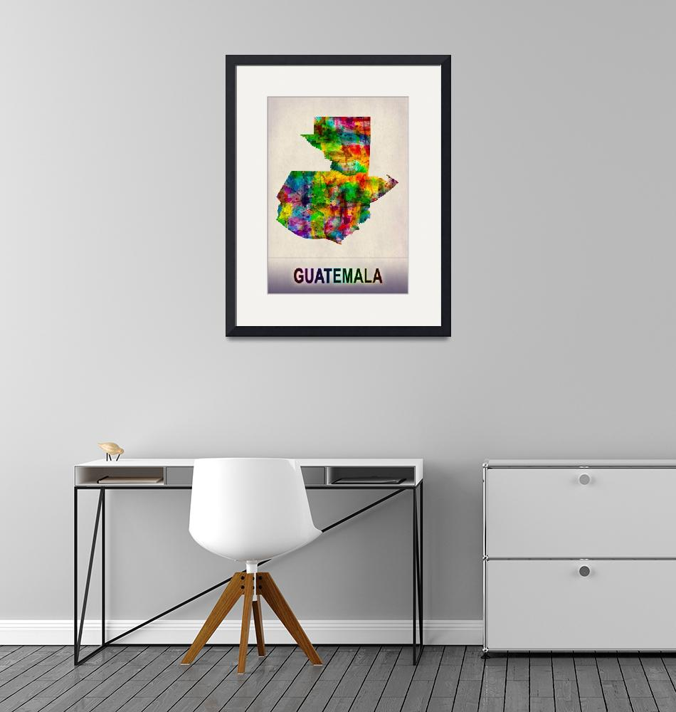 """""""Guatemala Map""""  by Towseef"""