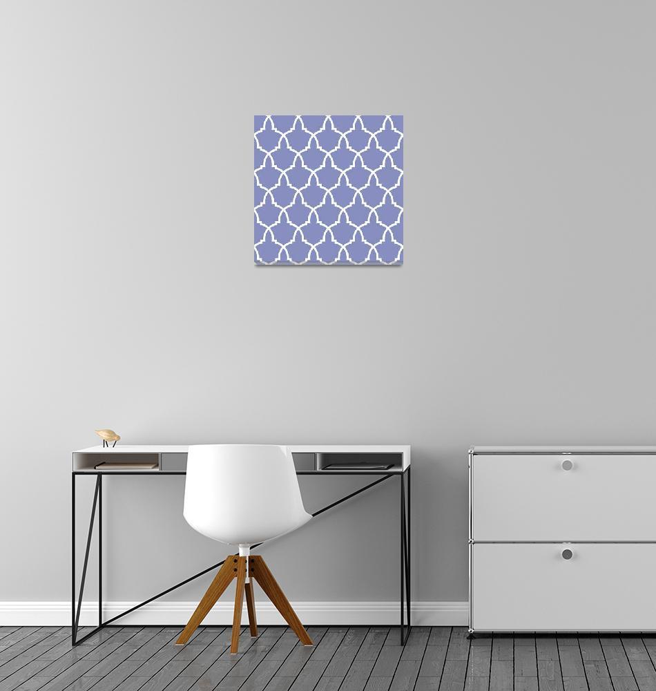 """Lilac Urn Lattice""  (2013) by houseofjennifer"
