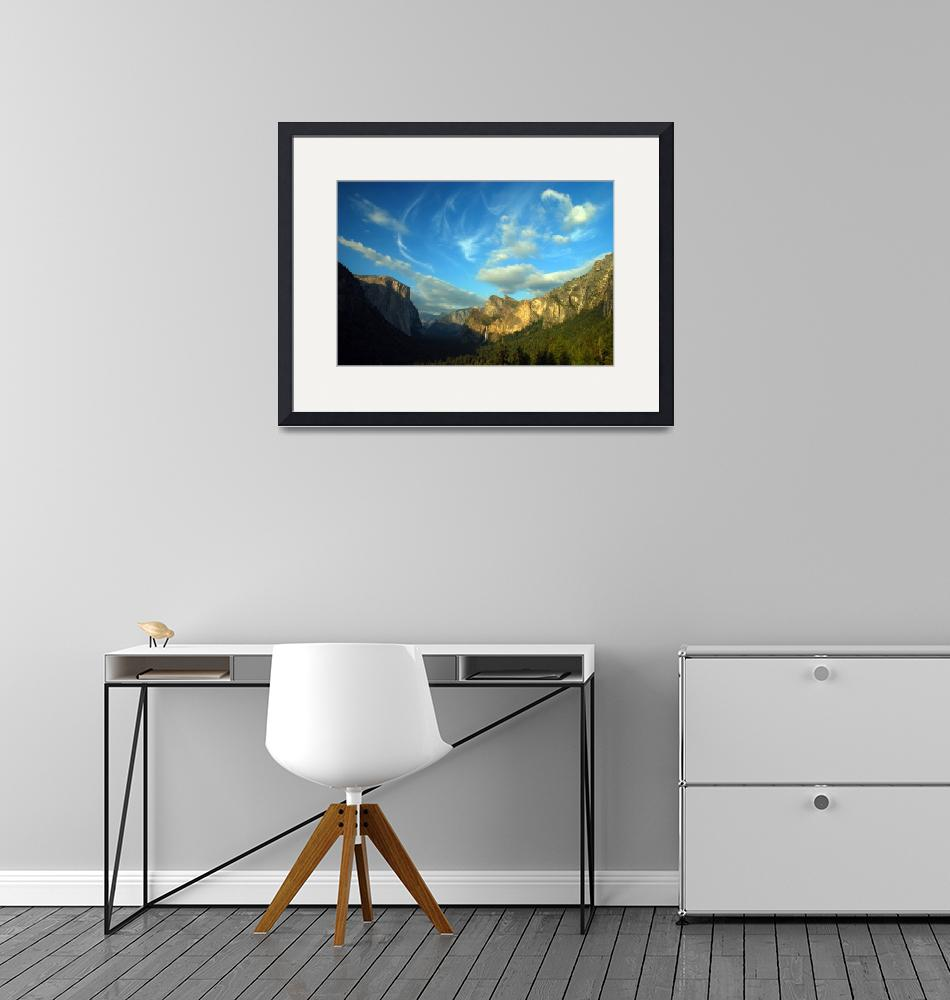"""""""Yosemite Valley Cloudscape""""  (2008) by PadgettGallery"""