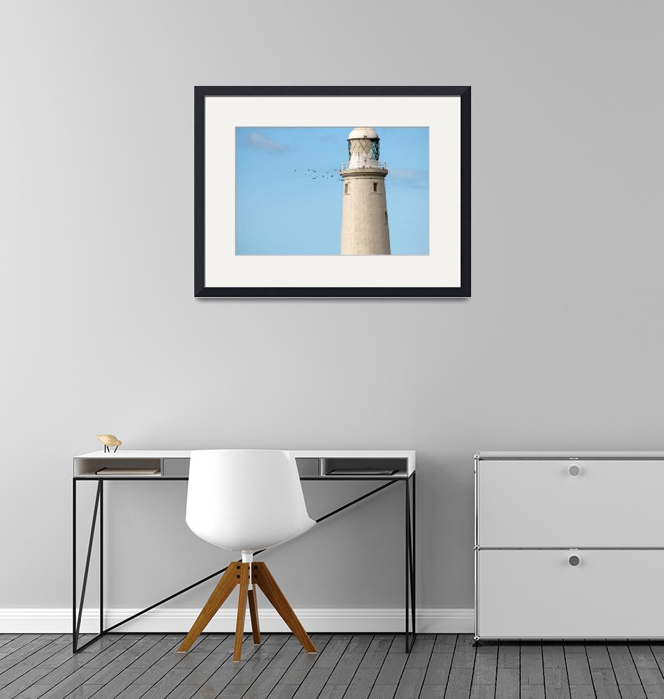 """""""Crows Circling Lighthouse""""  (2011) by ChrisBarry"""